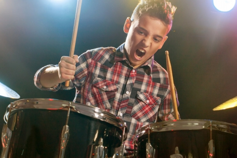 Initiatieles drum kids 8 tot 12 jaar
